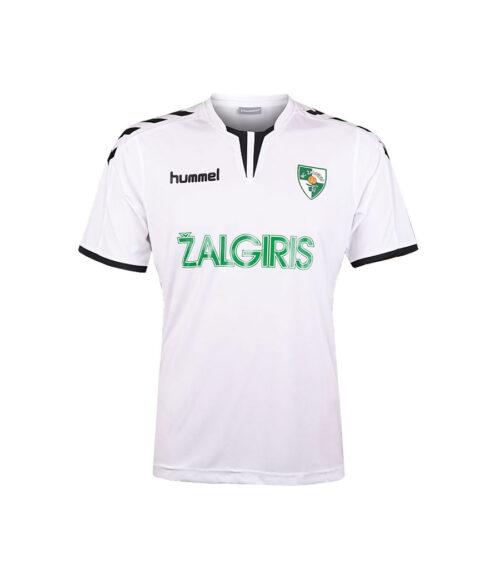 Futbolo Marškinėliai (balti) priekis