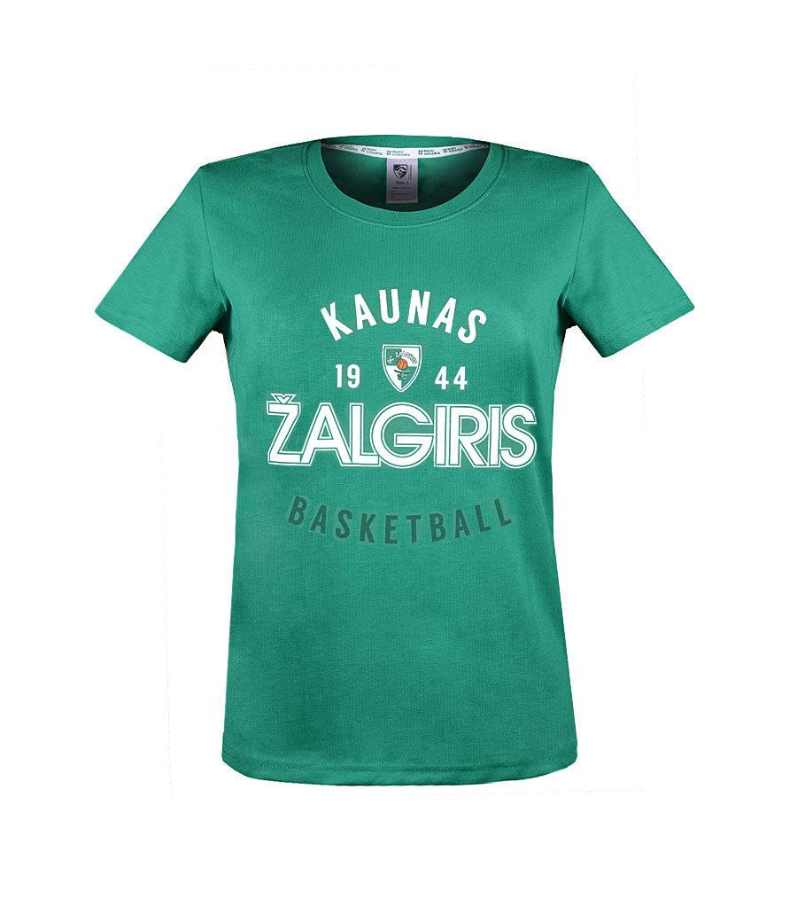 """Mot. Žali marškinėliai """"Basketball"""" priekis"""