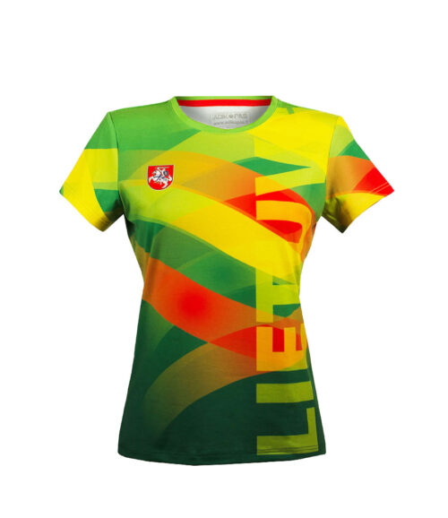 Sublimated Women's T-Shirt Front