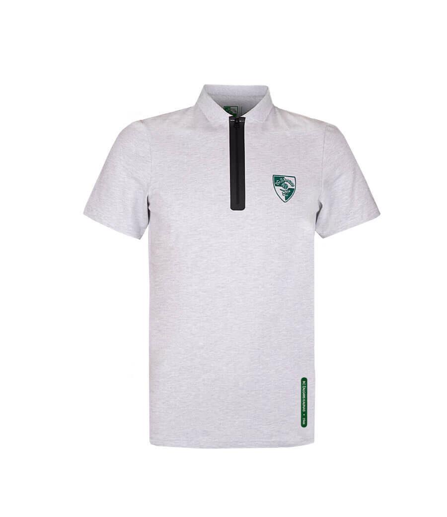 Žalgirio Polo marškinėliai (vyr., pilki)
