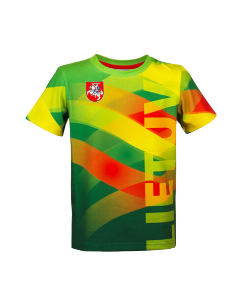 Sublimated Children's T-Shirt Front
