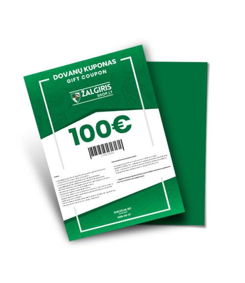 Dovanų kuponas 100 eur