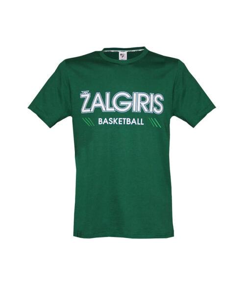 """Marškinėliai """"Žali basketball"""" priekis"""