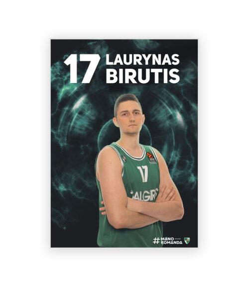 "Plakatas ""Birutis"""