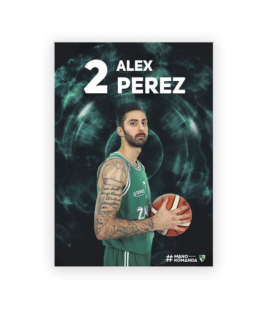 """Plakatas """"Perez"""""""