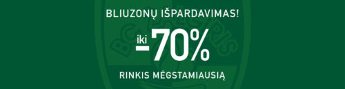 Bliuzonų išpardavimas iki -70%